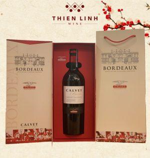 Rượu vang Calvet Varietal Merlot
