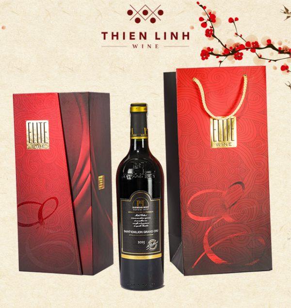 Rượu vang Raymond Huet Bordeaux - Saint Emilion Grand Cru