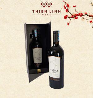 Rượu vang Vertice Carmenere Syrah