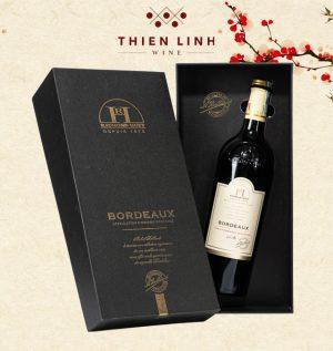 Rượu vang Raymond Huet Bordeaux - Merlot Cabernet Sauvignon